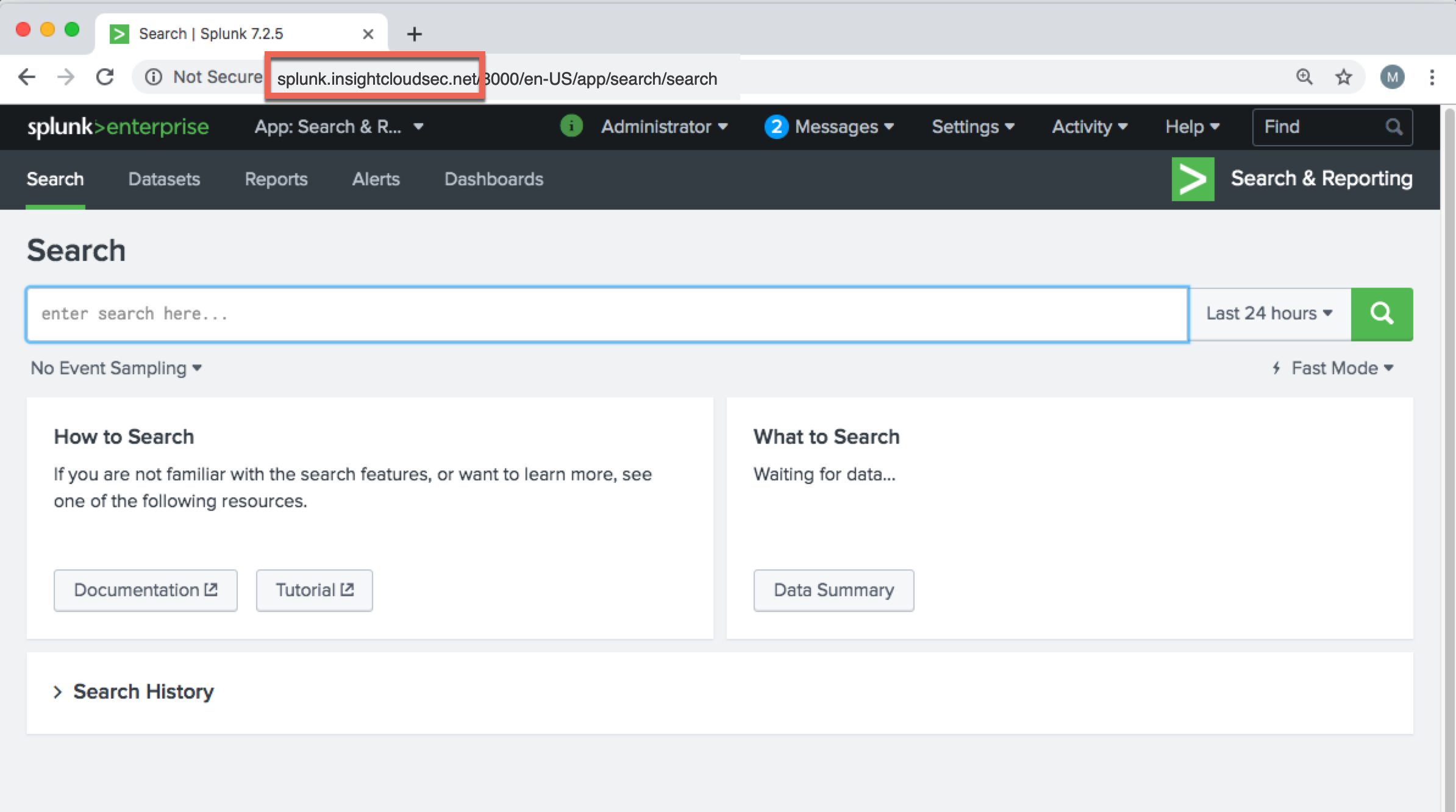 Getting Your Splunk Instance Name