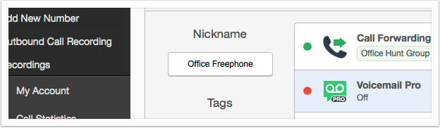 Type in a new nickname