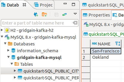 Example: Persisting Ignite Data in Relational Database with