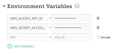Set the environment variable