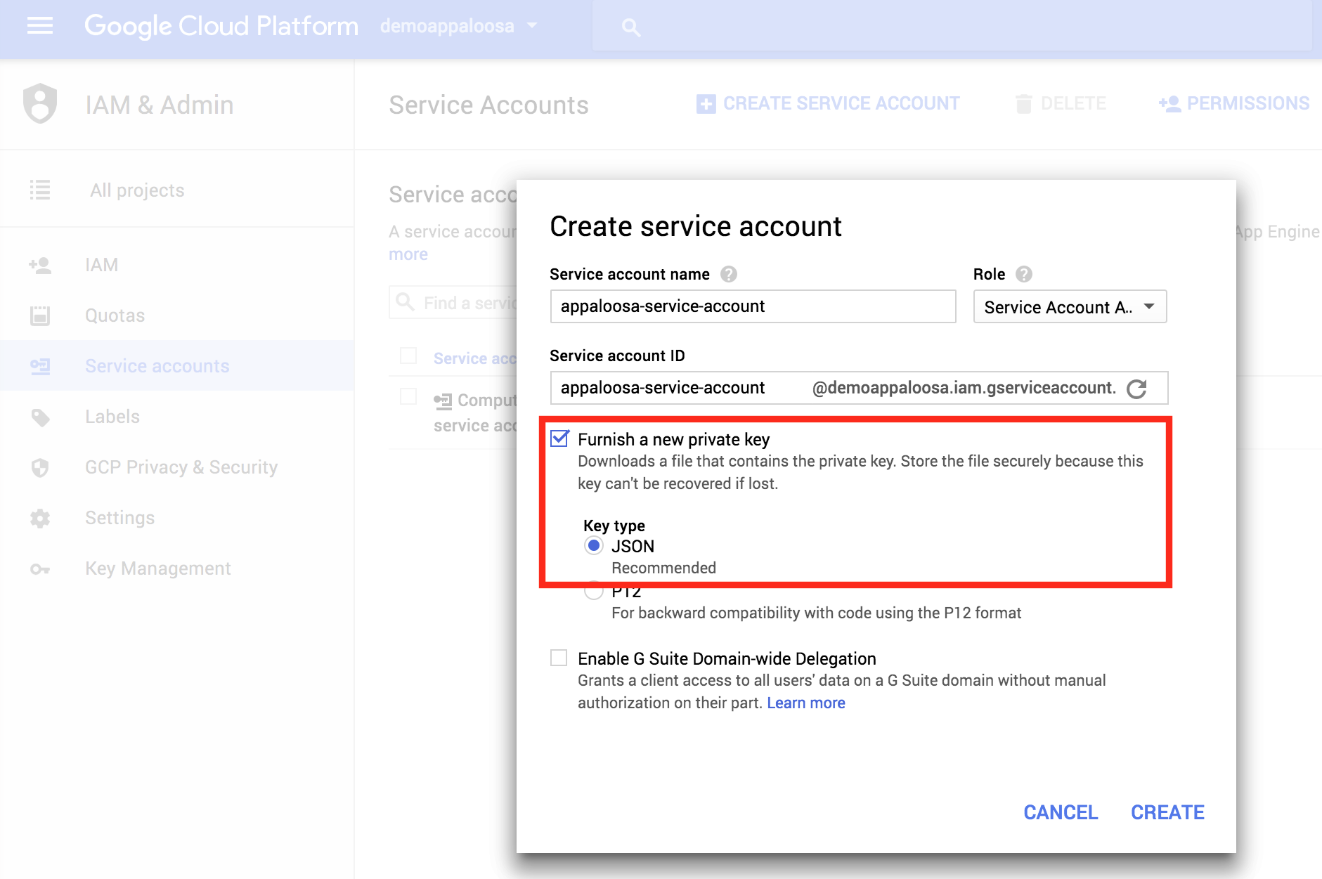 how to create new g suite account