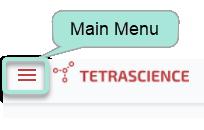 Main menu button