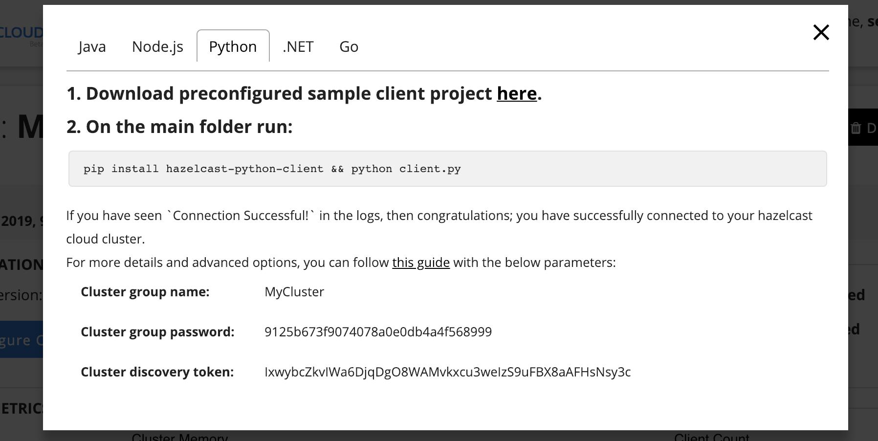 Python Client
