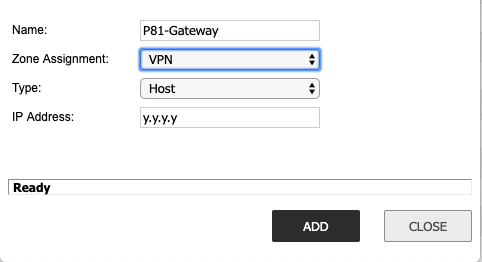 SonicWall Firewall Site-to-Site IPSEC – Perimeter 81