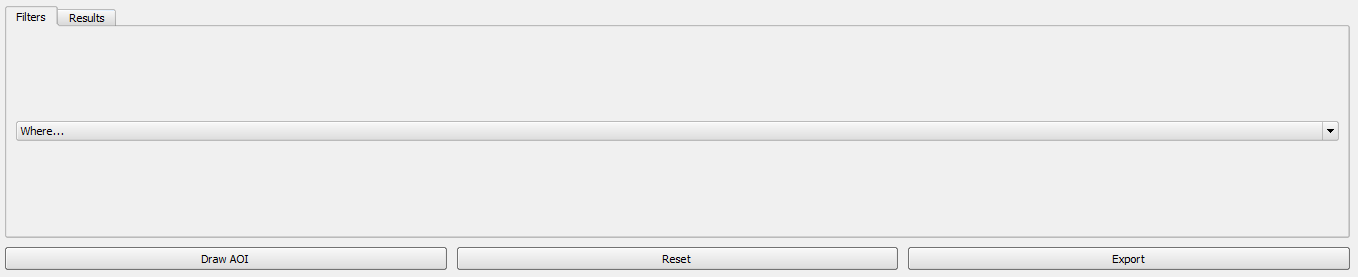 Click Reset to delete the applied filters