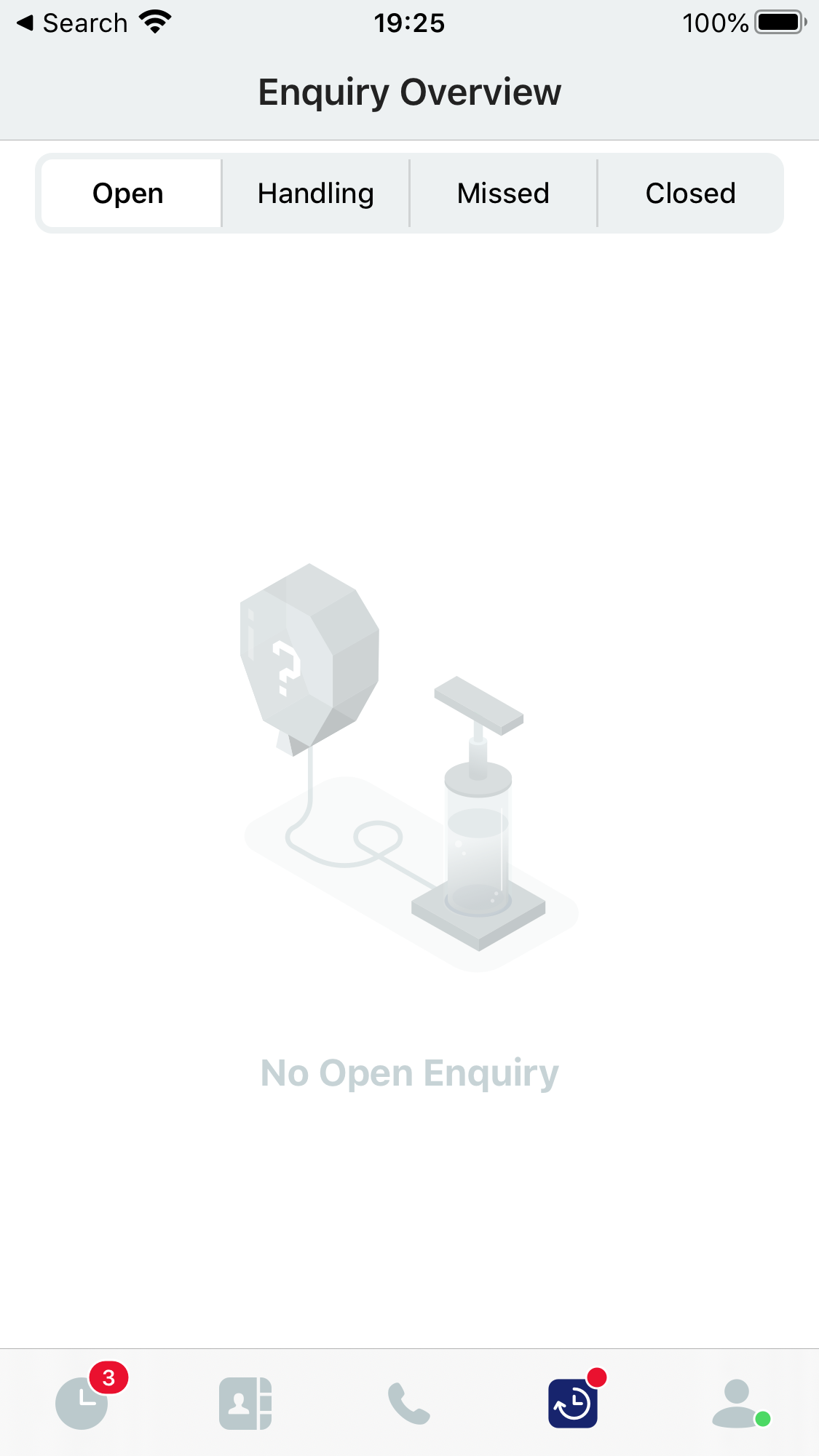 Open Enquiry Section