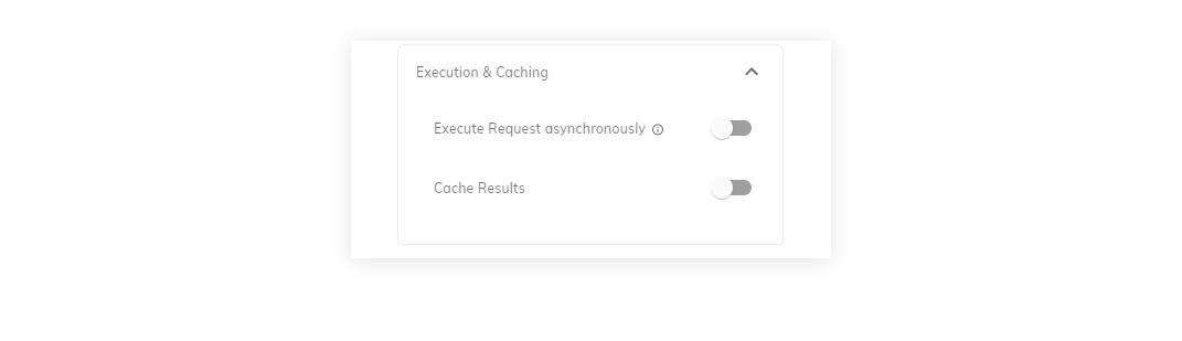Figure 9: Execution and Caching