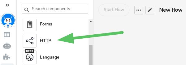 Integrate a Flow to SnatchBot