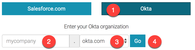 Okta Single Sign On