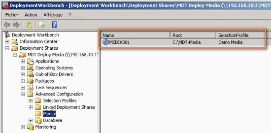 MDT scenario for creating an ISO image Windows · ceBox