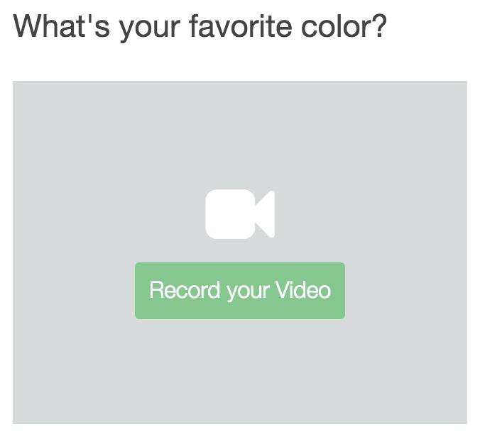 Video Responses