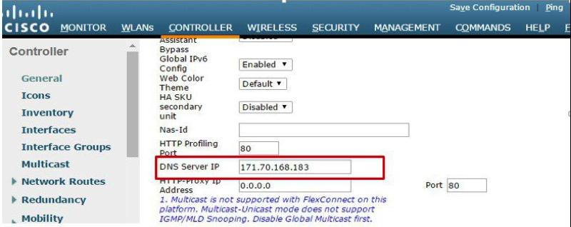 Wireless LAN Controller Integration