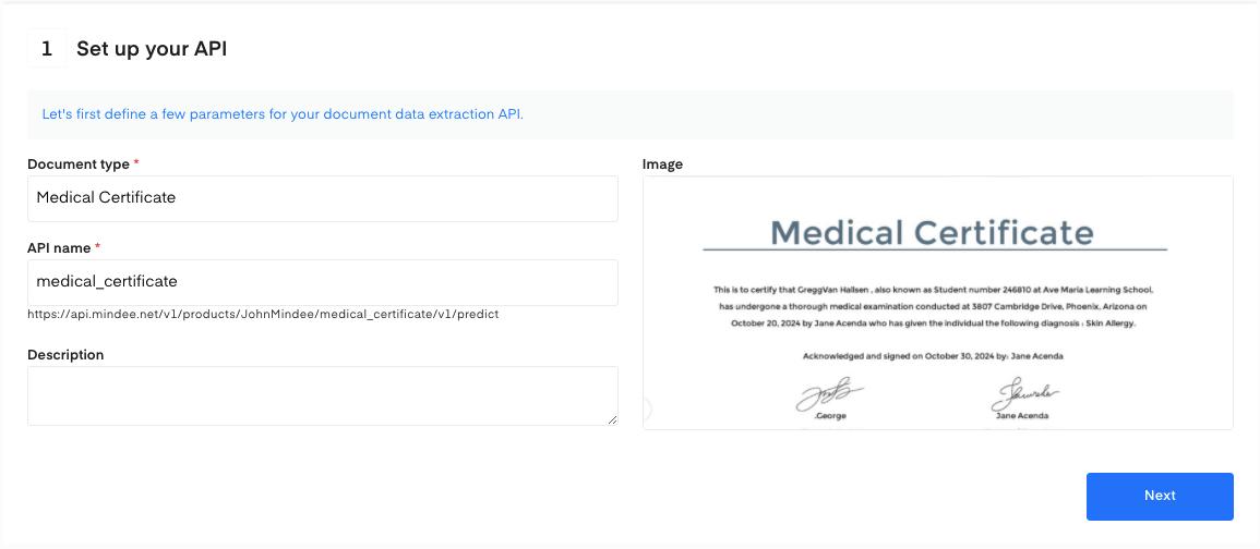 Set up your API