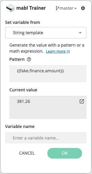 Creating a random monetary value