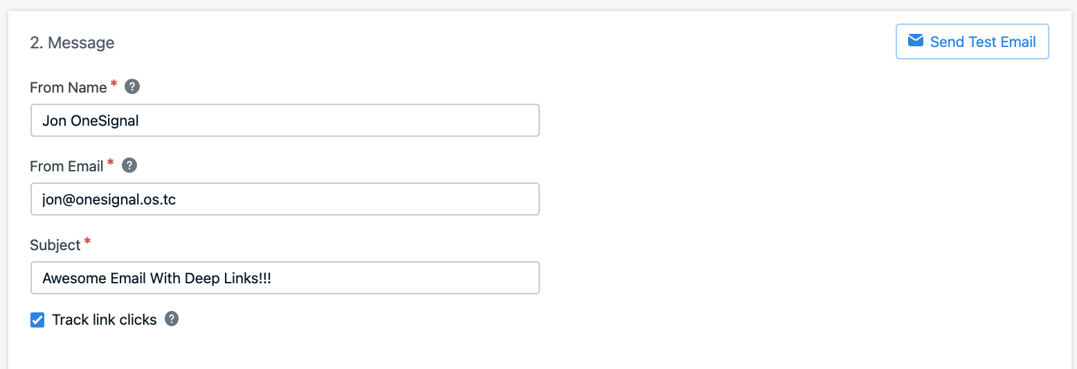 Image shows setting up your user details