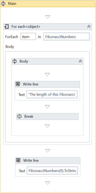 UiPath Break and Continue Example