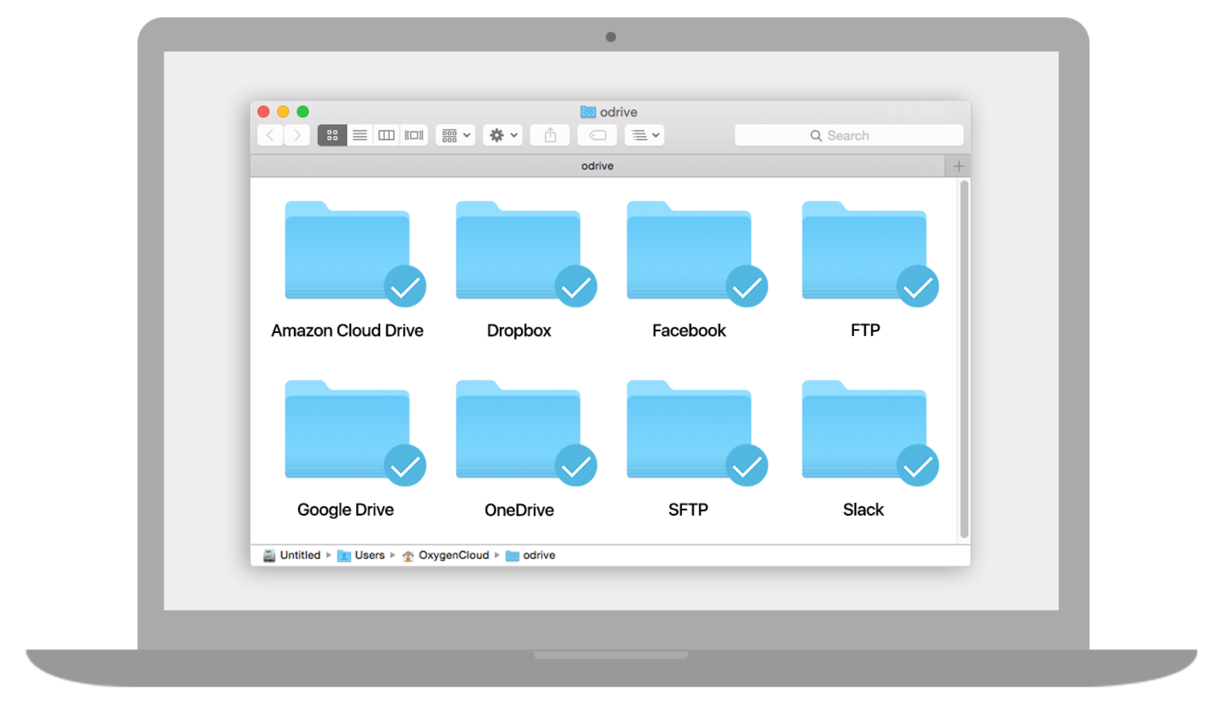 Unified access to all storage so you can sync, share, encrypt, and back up your files on any machine.