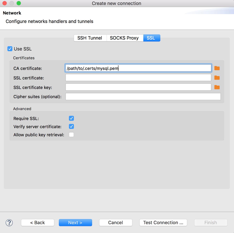 Compose for MySQL Tools