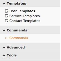 Nagios xi go to commands commands from the side menu maxwellsz