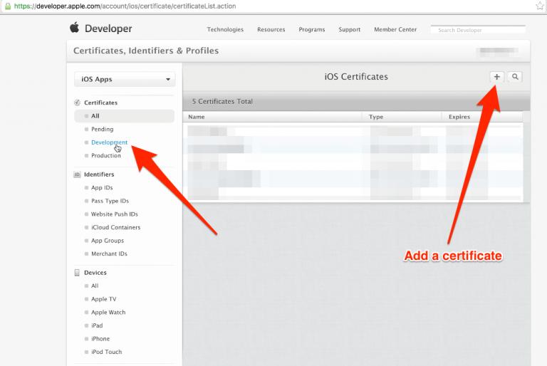 How to Create an iOS APNs Certificate