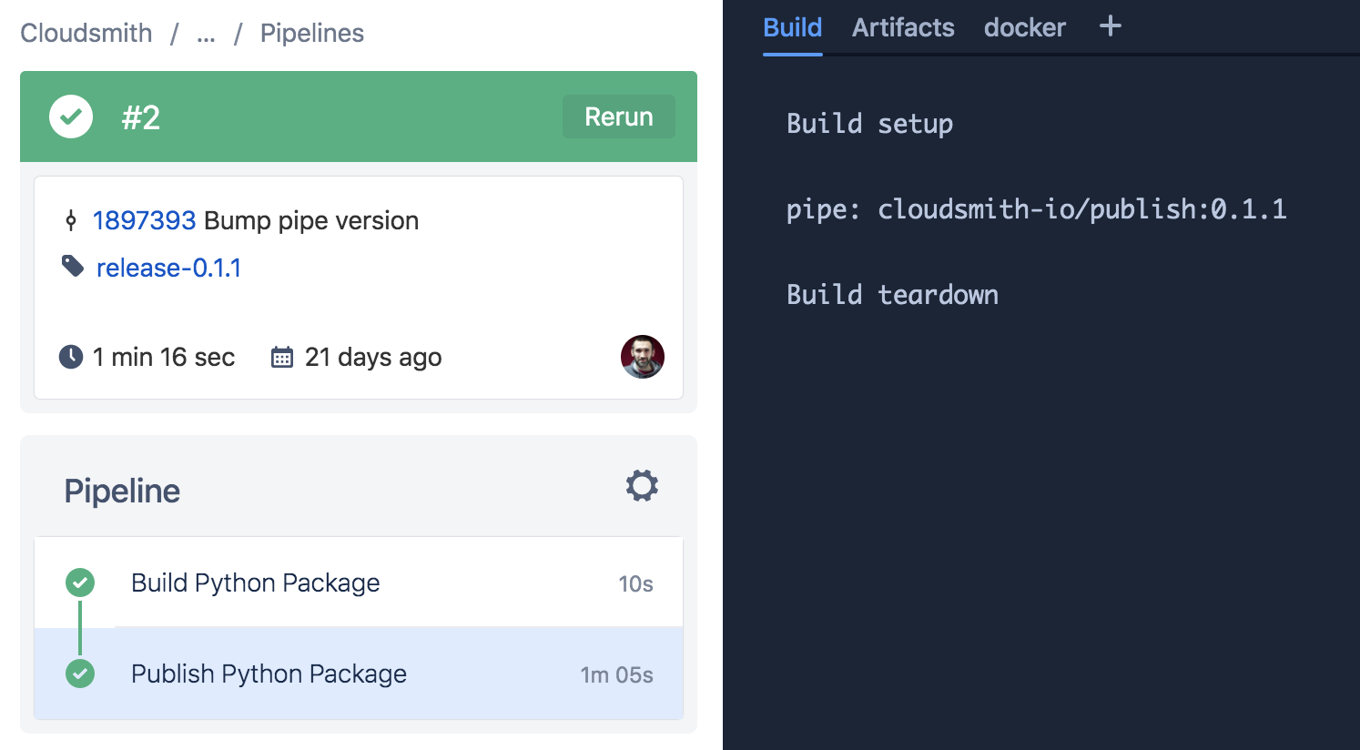 Integrating with Bitbucket Pipelines