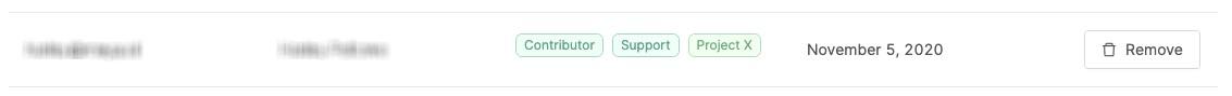 This user belongs to three teams.
