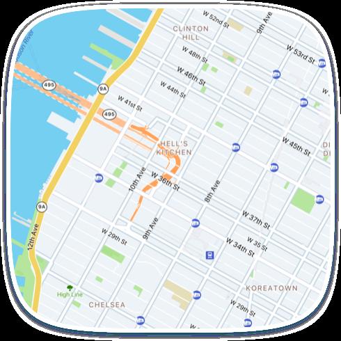 MapFit example