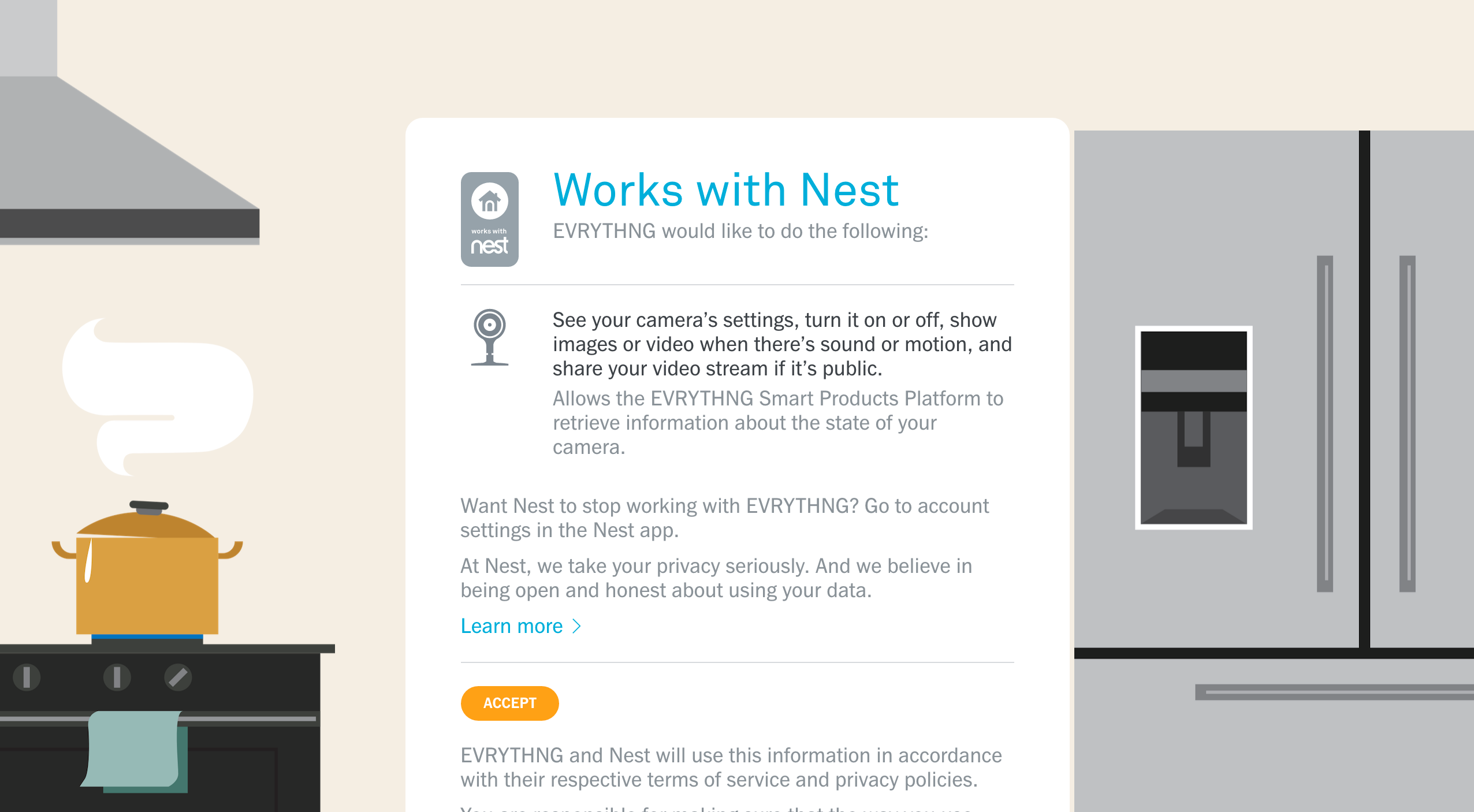 Connecting with Nest