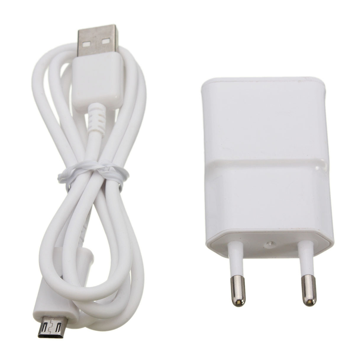 6. Micro USB Cable & Power Adapter