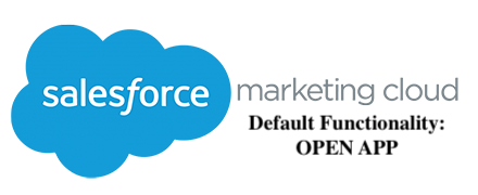 salesforce v1 open app
