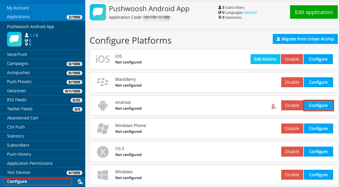 Xamarin Android SDK - Pushwoosh