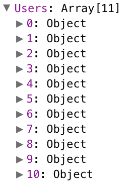 Above is an example of an **Array**