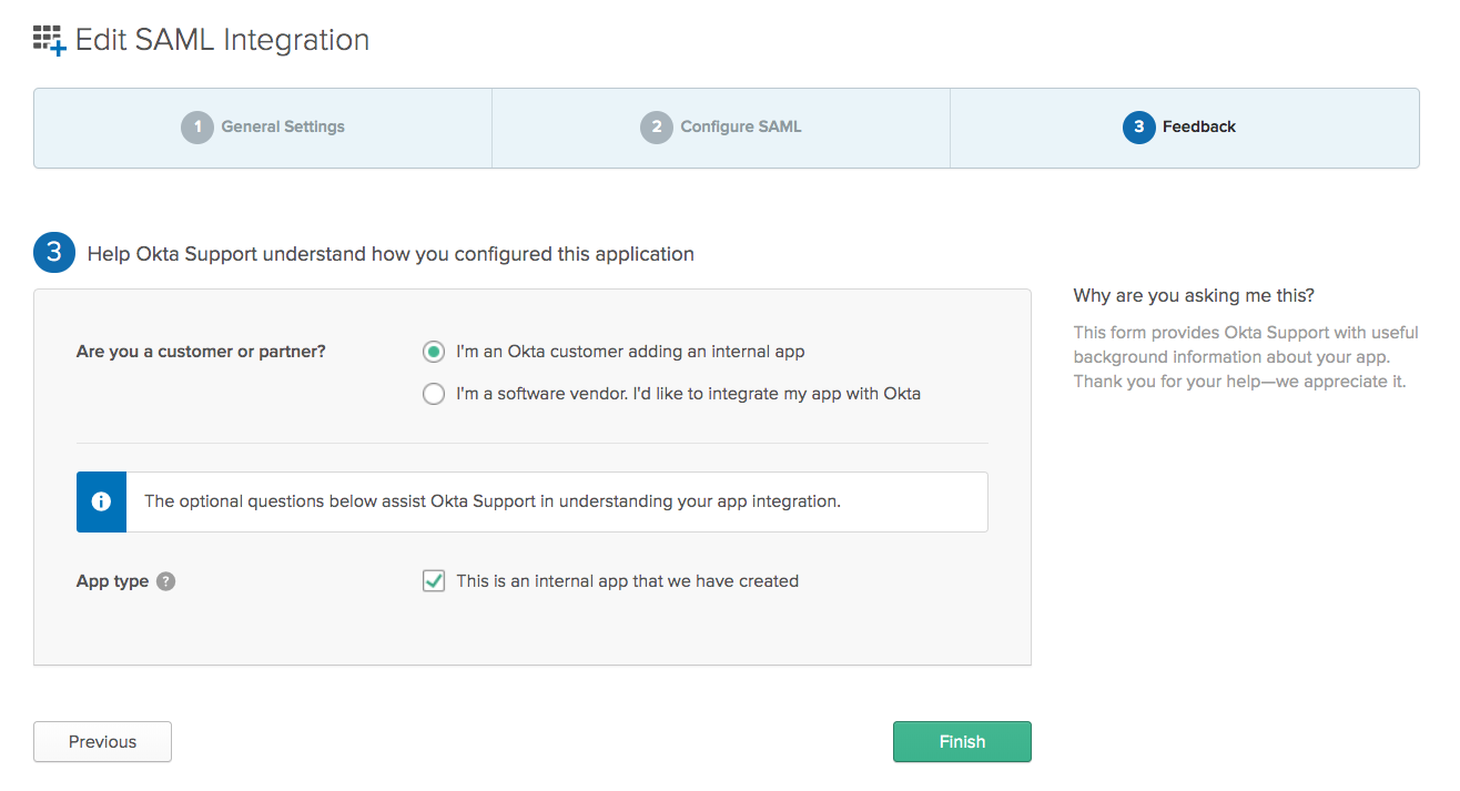 Setting up Enterprise SSO with Okta
