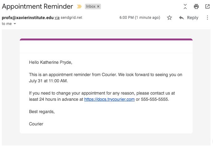 Delivered Email