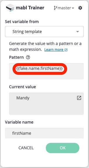 Creating a random first name