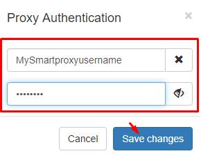 SwitchyOmega proxy authentication