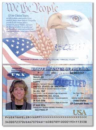 example of good passport upload