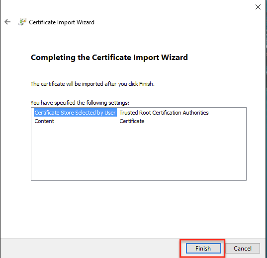 Using a Certificate for the HTTPS Protocol