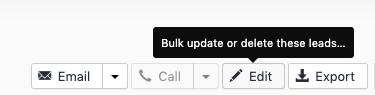 Bulk Update a Lead Status
