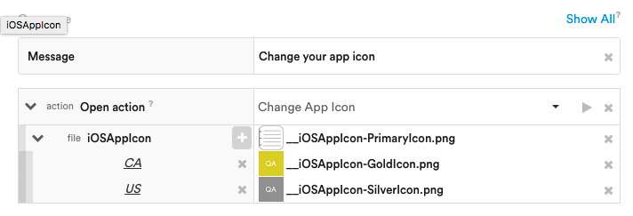 Change a user's App Icon (iOS 10 3+)