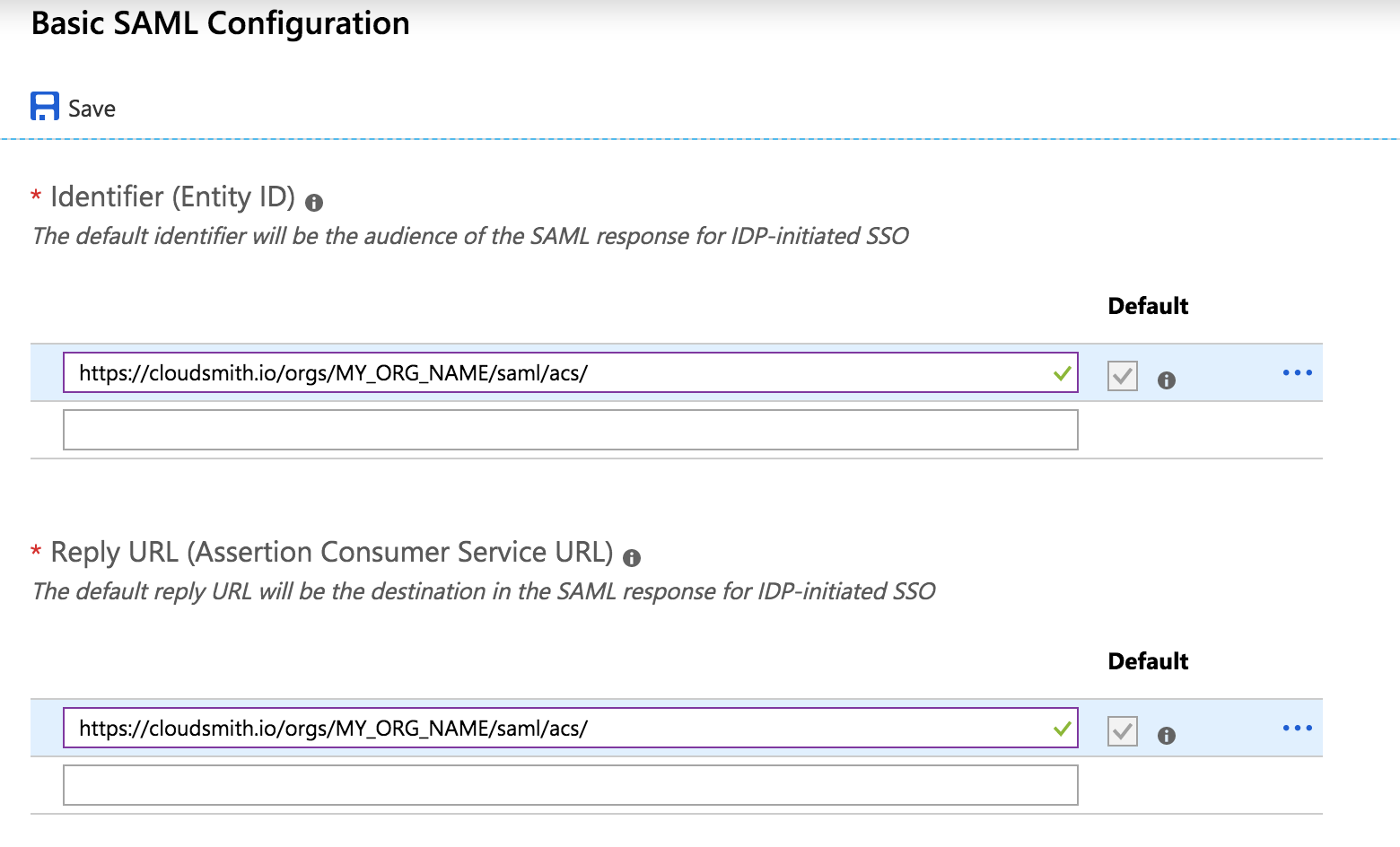 Single Sign-On with Azure AD