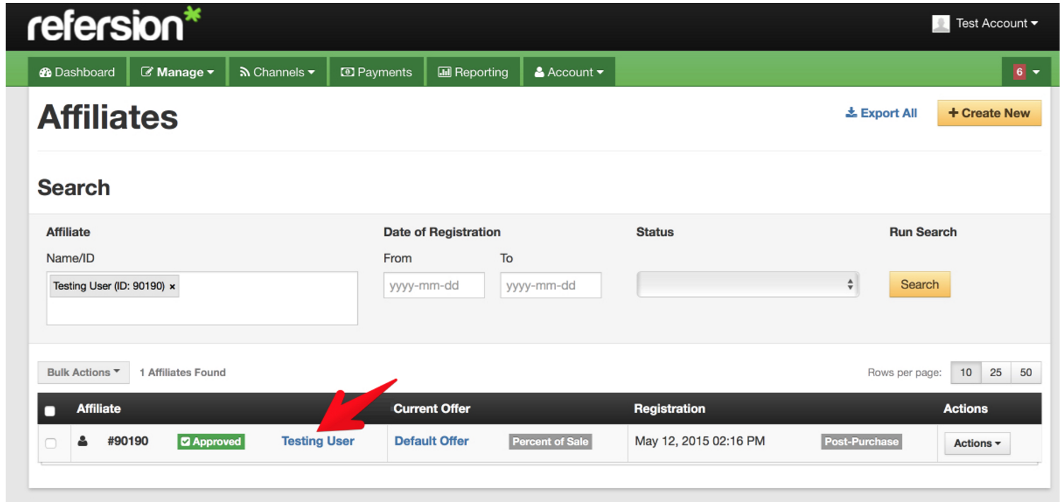 Managing affiliates - Head To Manage Affiliates And Find The Affiliate You D Like To Create The Conversion Trigger For