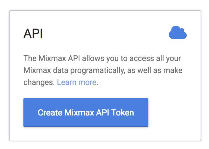 Introduction: REST API · Mixmax Developer