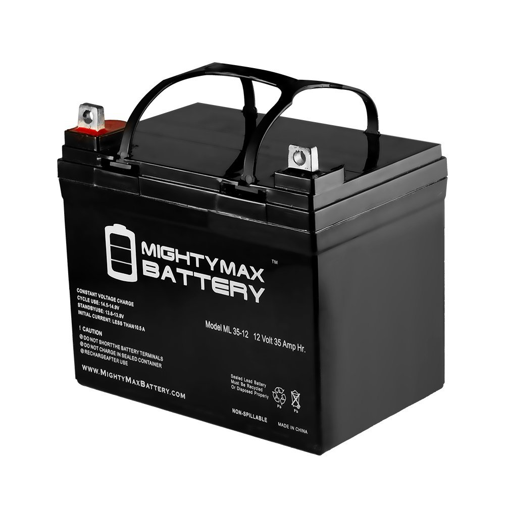 12 Volt, 35 Amp-Hour Deep Cycle Sealed Lead Acid Battery