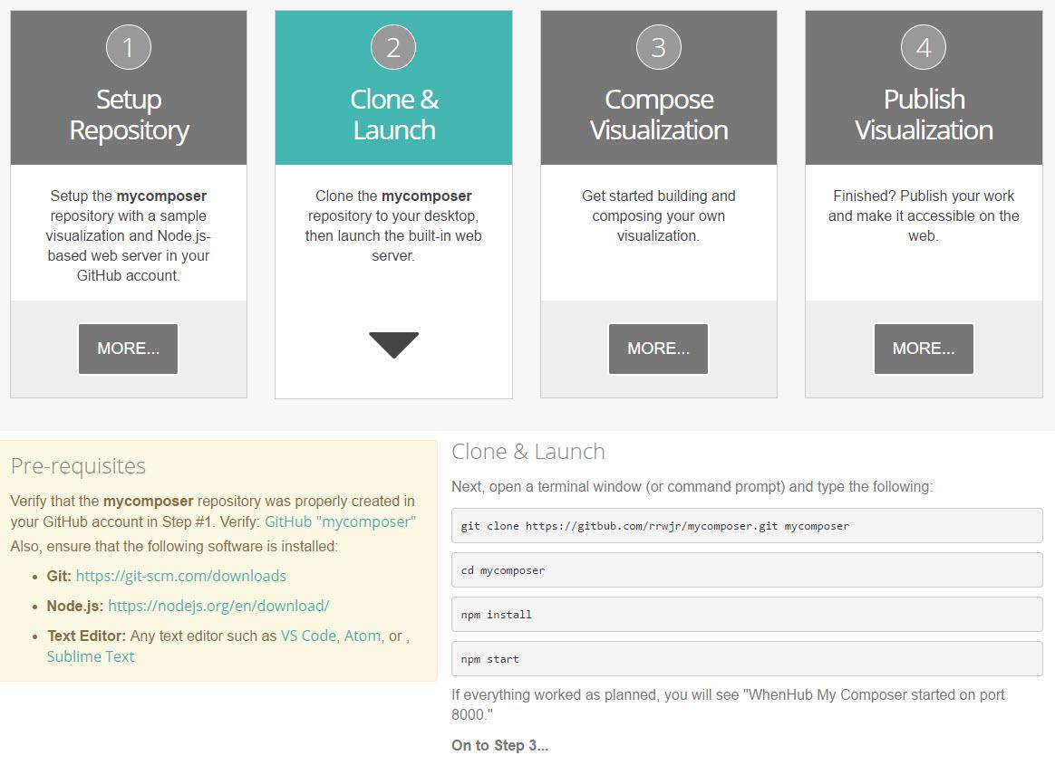 Clone & Launch Repository