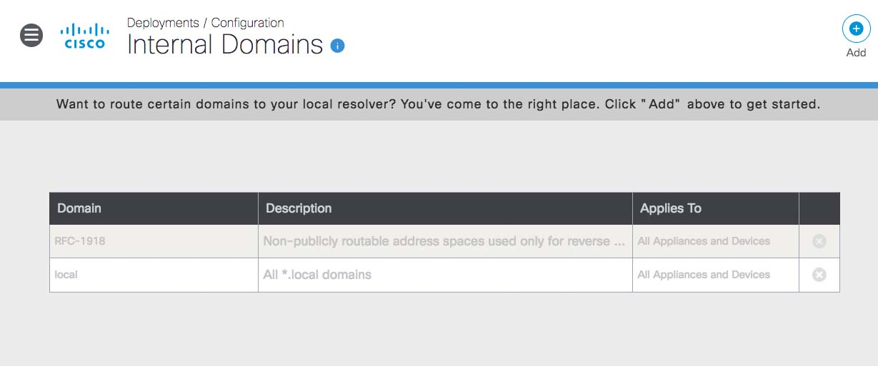 Local DNS Forwarding