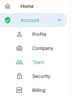 Railz Dashboard - Team. Click to Expand.