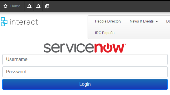 ServiceNow Widget
