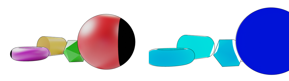 Figure 11. Color image aligned to Depth camera coordinates (left) Depth frame aligned to Color camera coordinates (right)