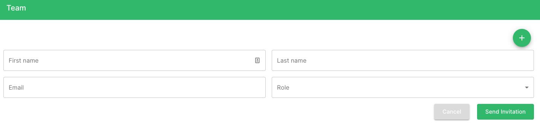 Railz Dashboard - Team Add. Click to Expand.